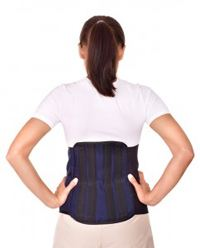 Spinal brace for the lumbar spine